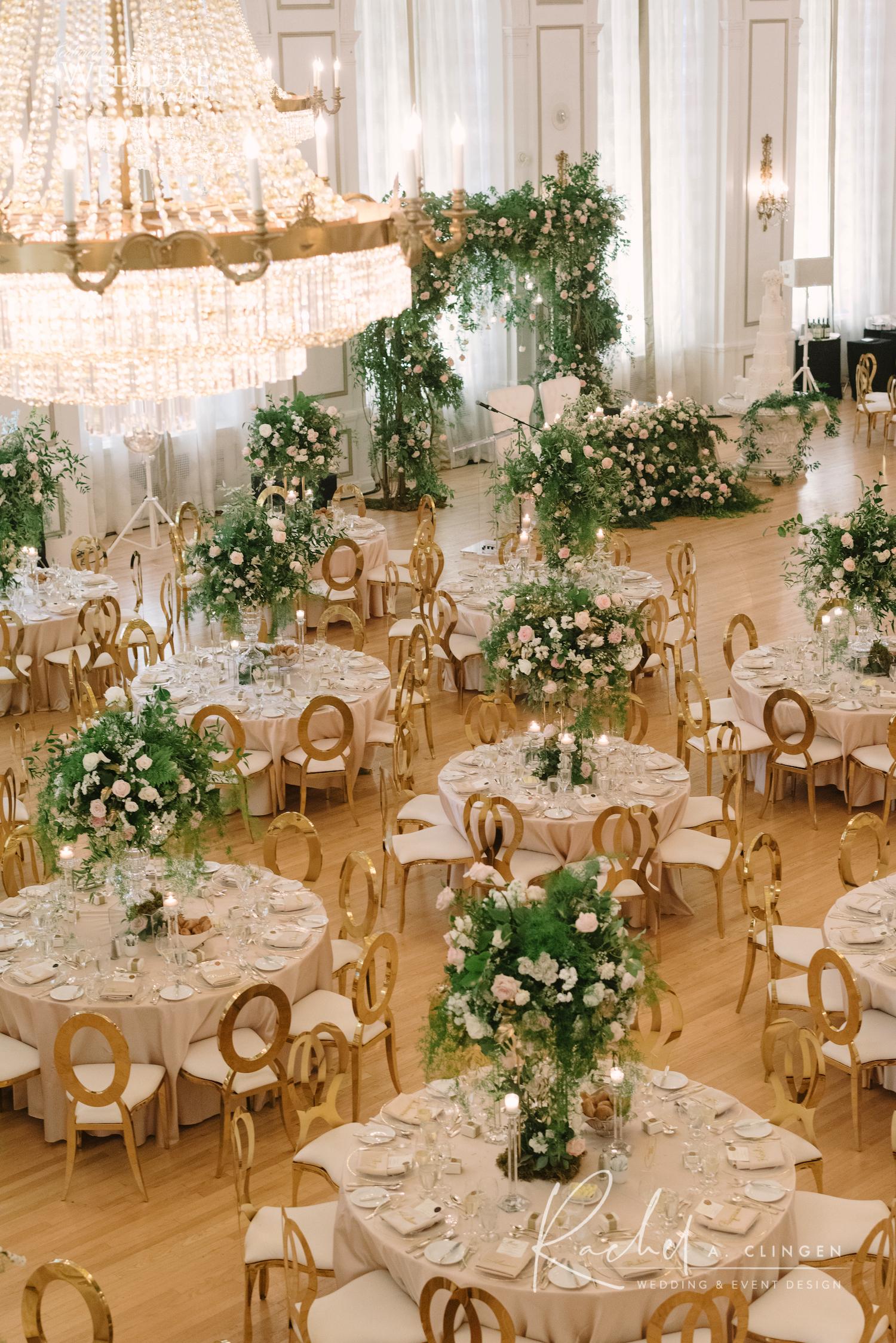 luxury wedding royal york hotel rachel clingen