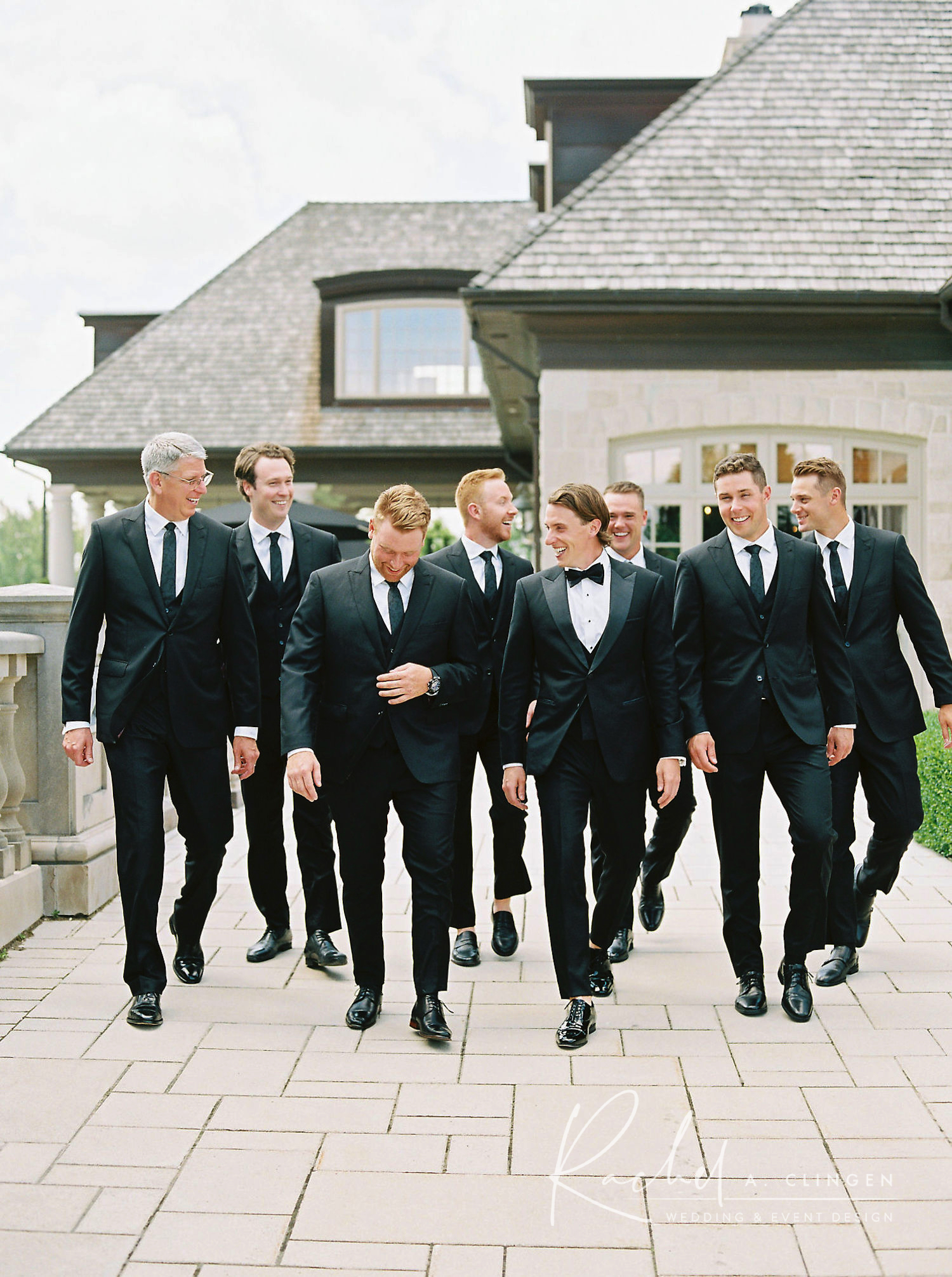 magna golf course wedding groomsmen