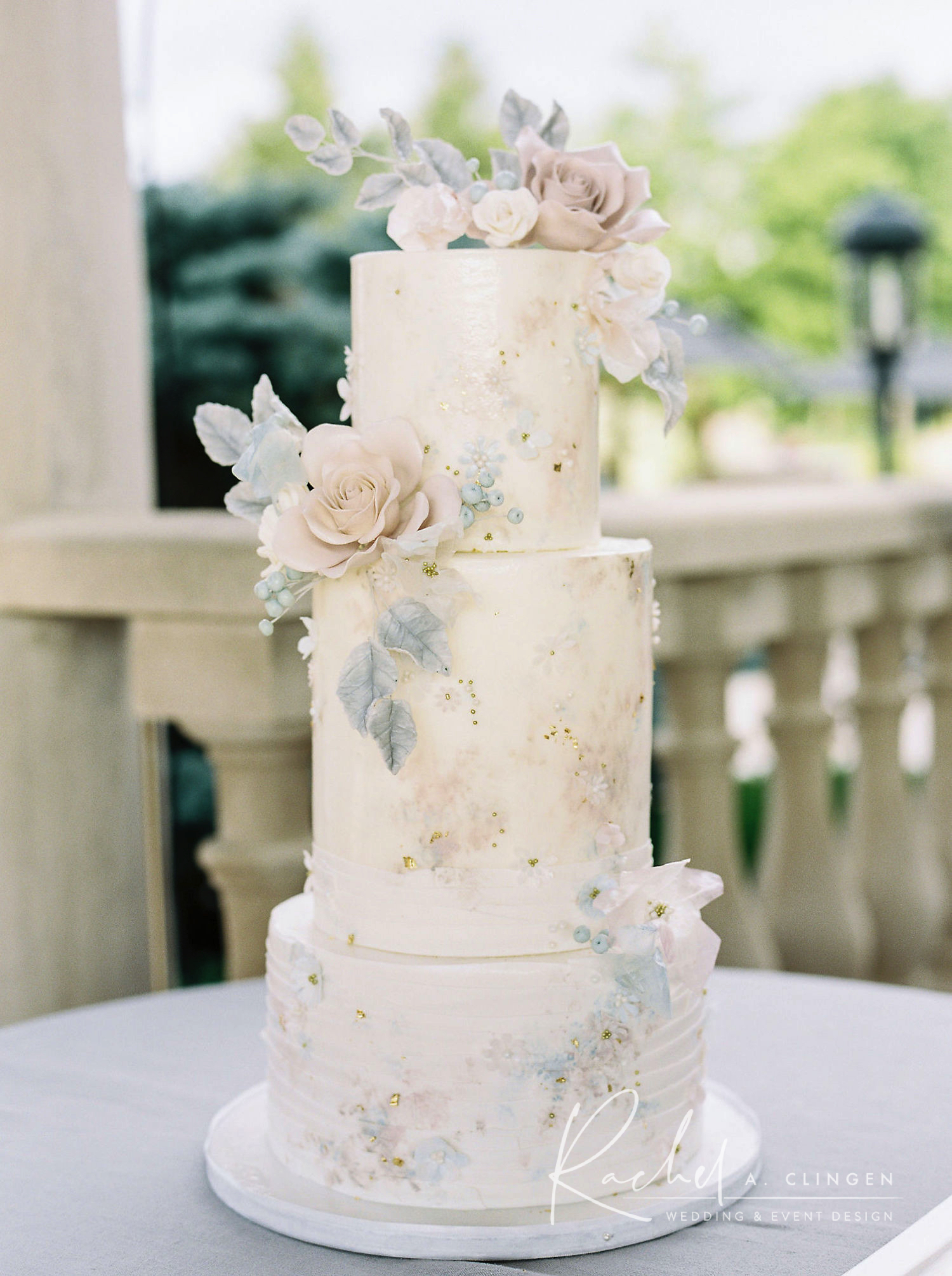 morgan adam wedding cake