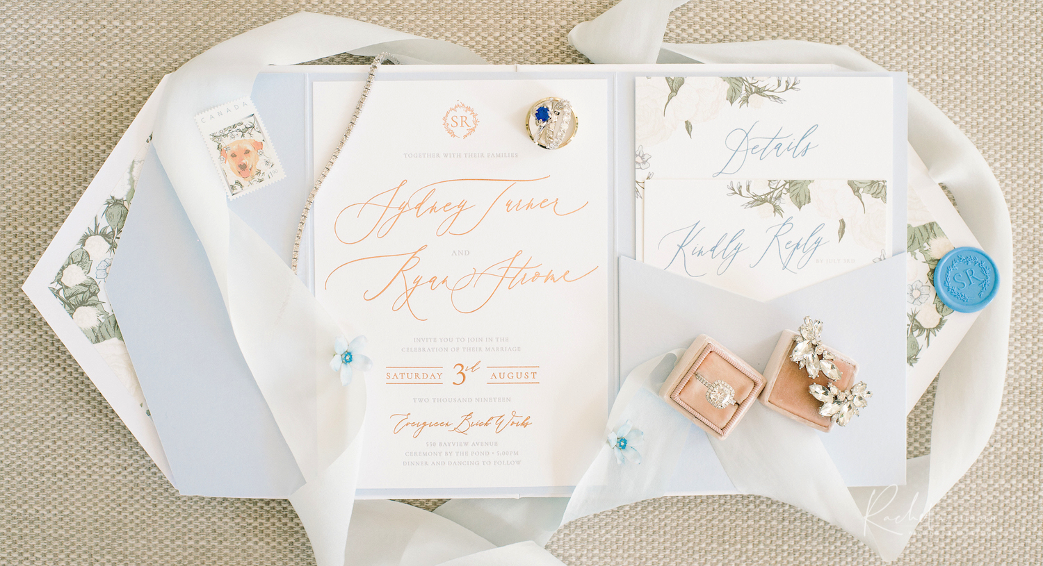 ryan strome wedding stationery 1