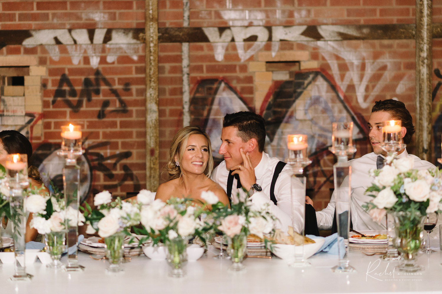 ryan sydney strome wedding reception