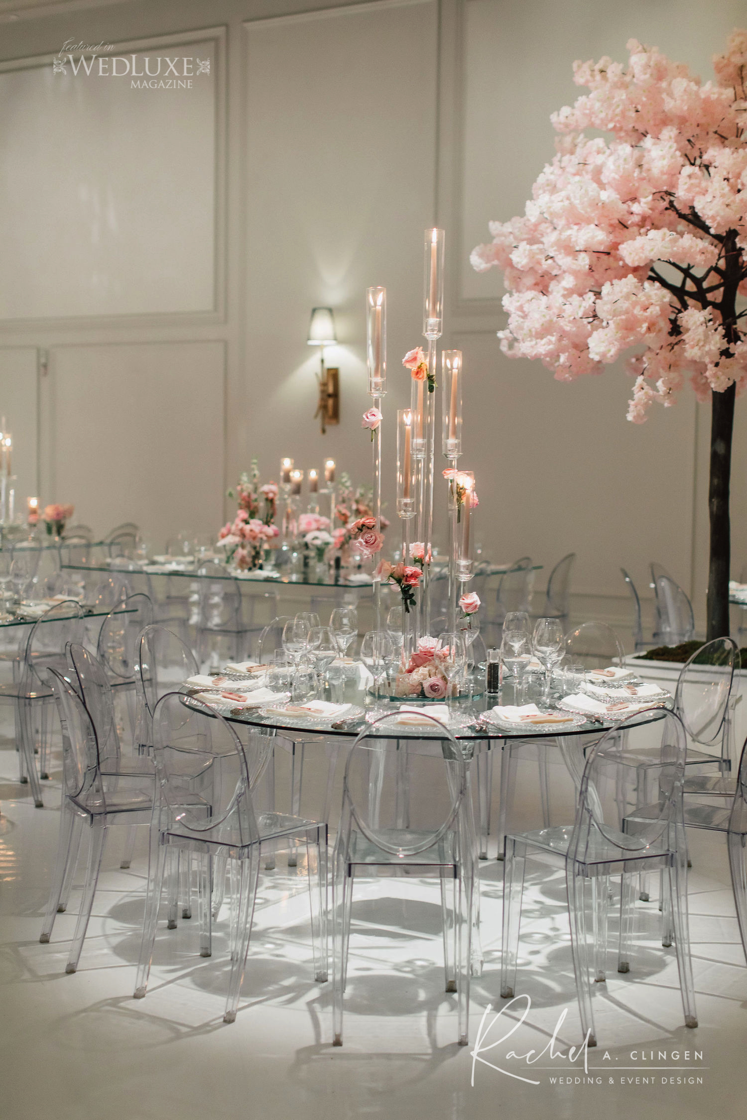 arlington estate modern wedding decor