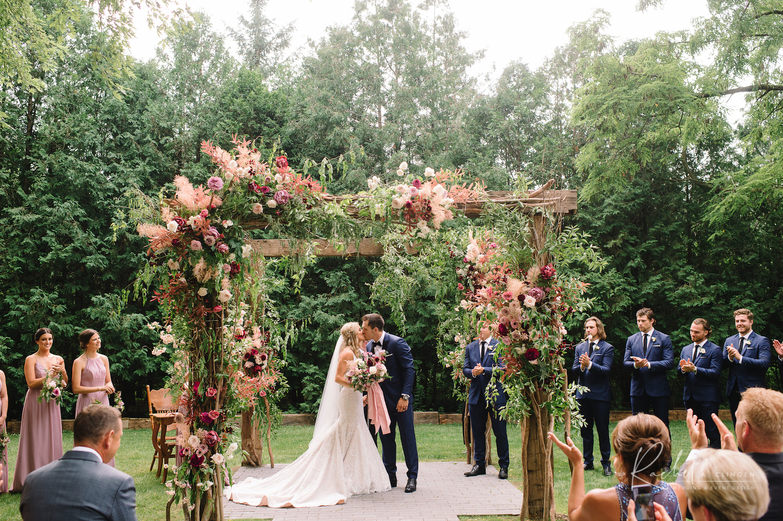bo horvat wedding ceremony