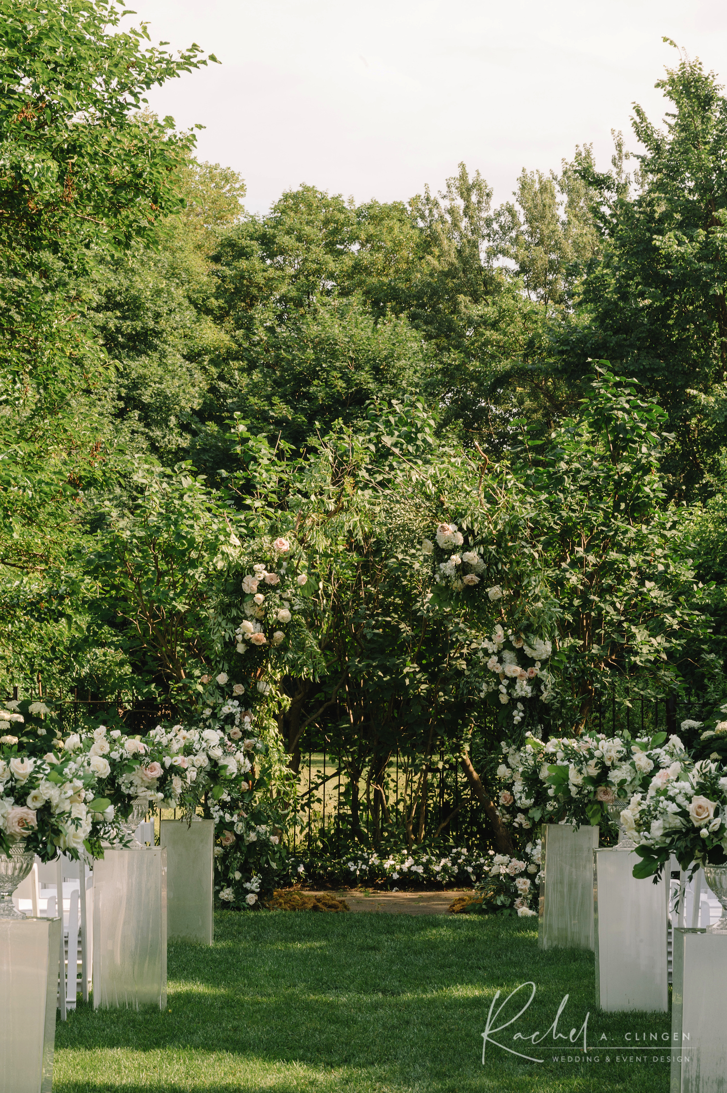 garden wedding graydon hall
