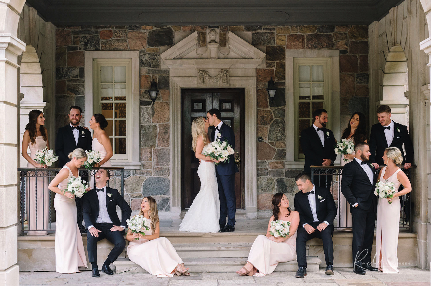 graydon hall wedding bridal party