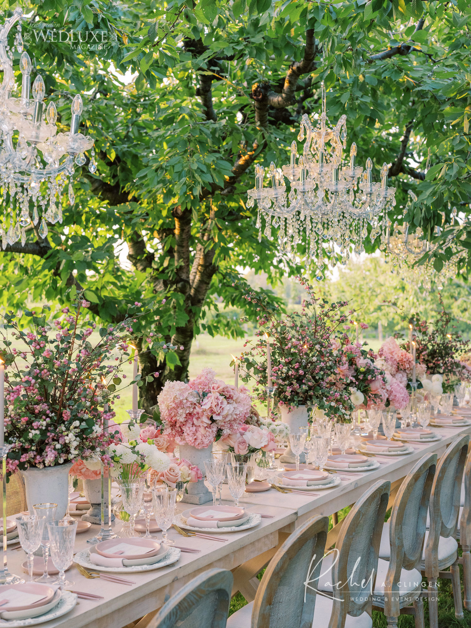 kurtz orchard summer wedding pink