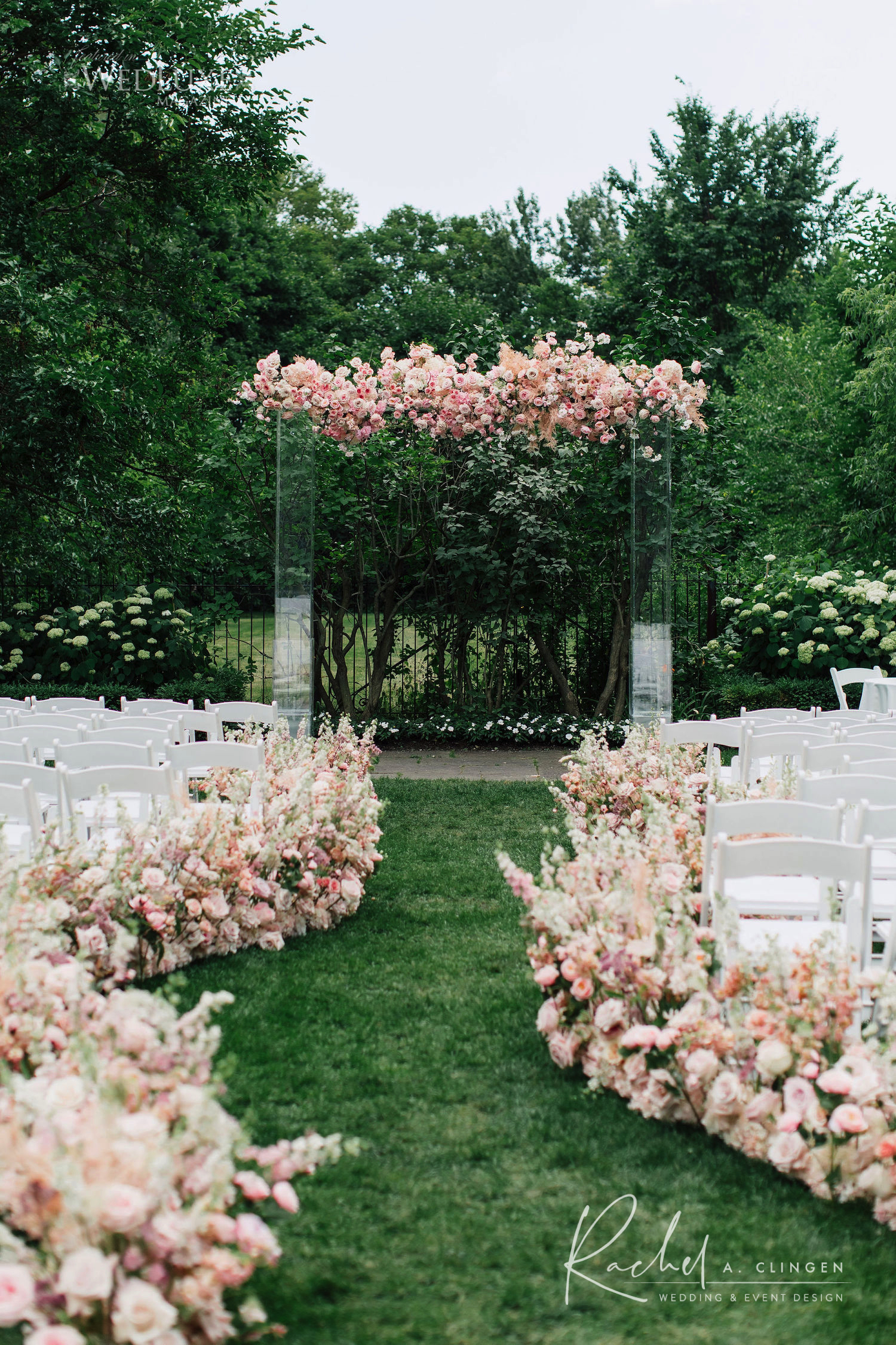 luxury wedding flowers graydon hall toronto