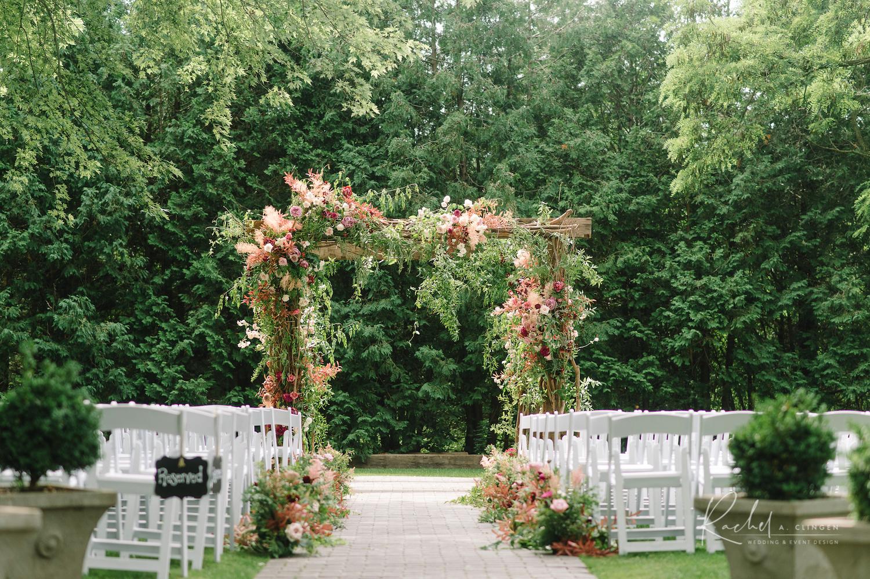 mauve dusty rose wedding flowers