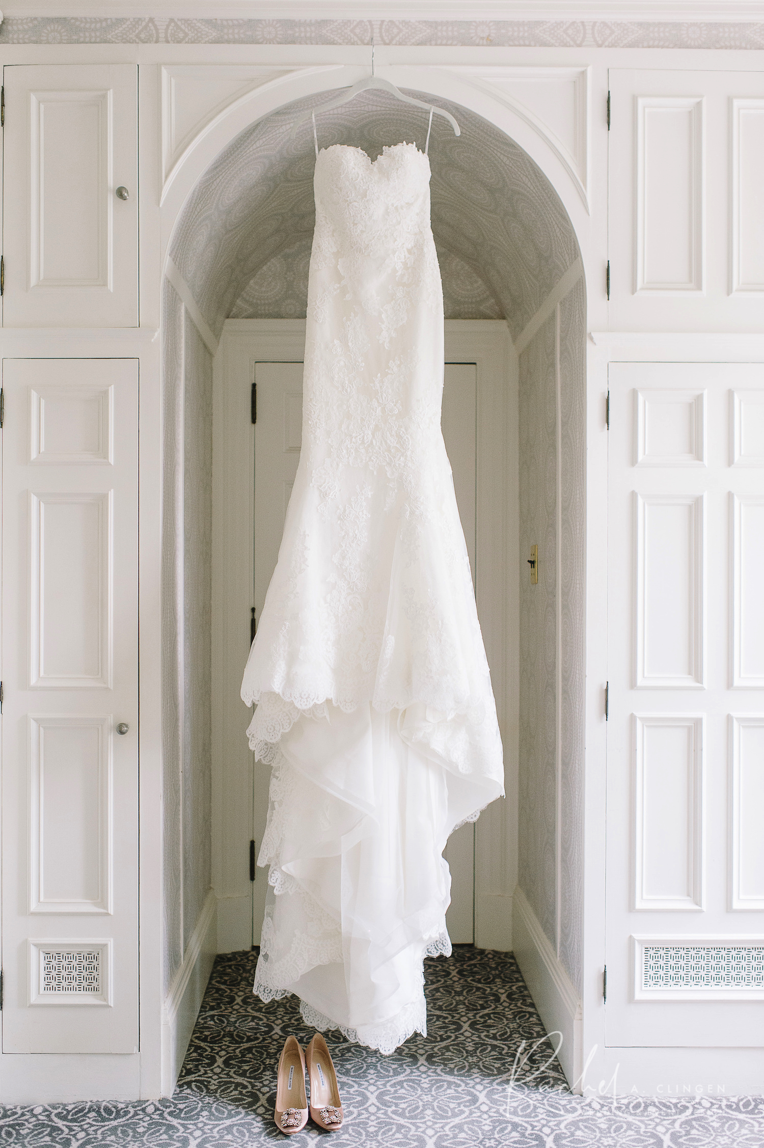 melissa mike wedding gown