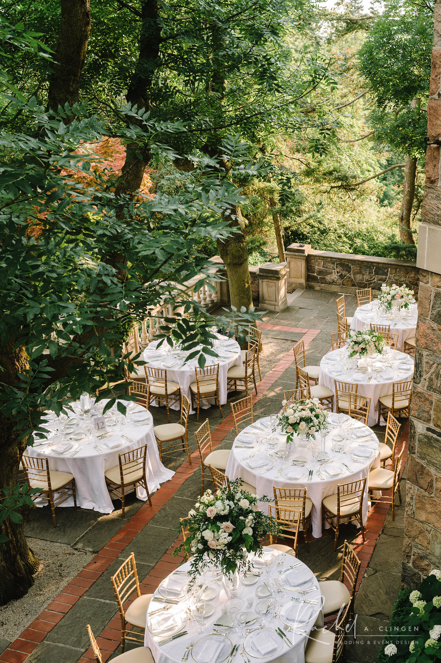 outdoor wedding rachel a clingen