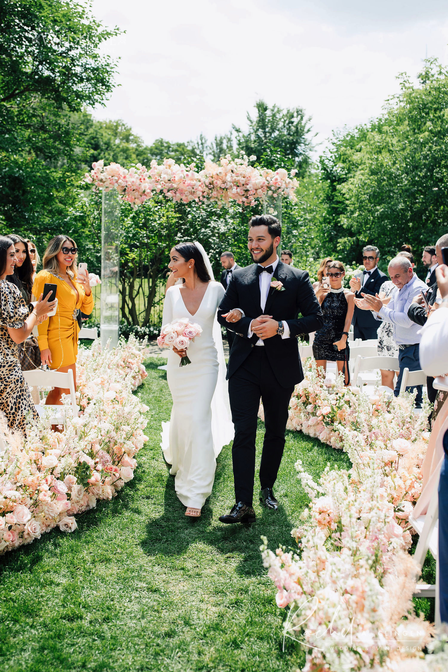 sara mathew pink luxury wedding flowers