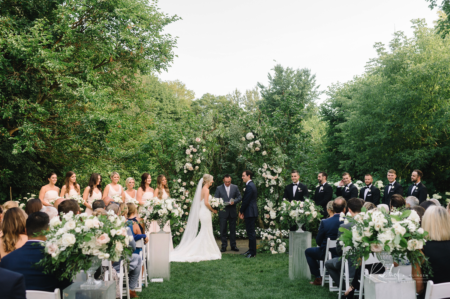 toronto luxury garden wedding