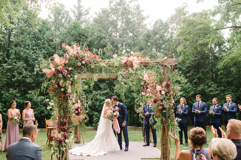bo horvat wedding roseville estate
