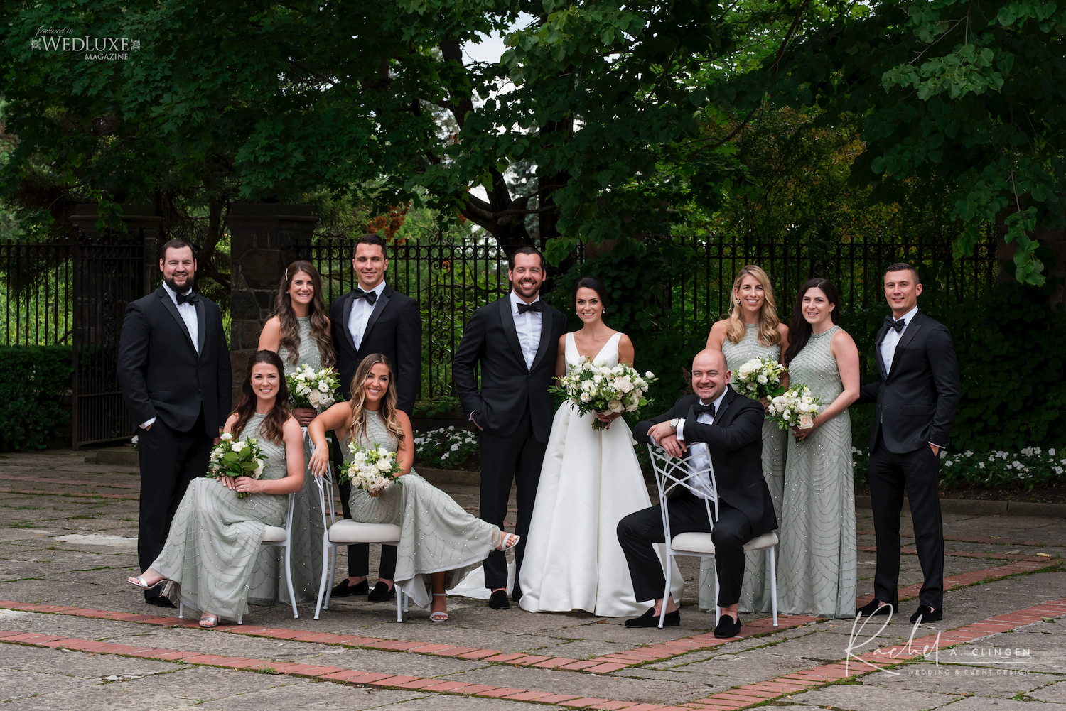 bridal party graydon hall nicole jean
