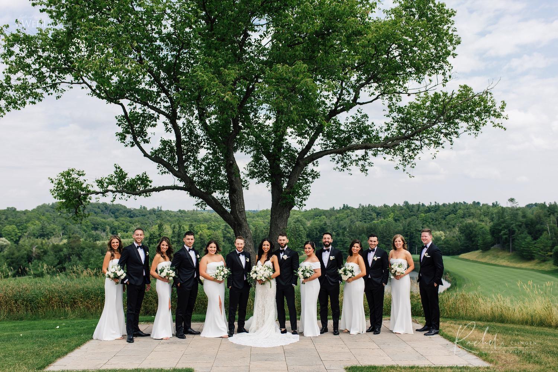 christopher sarah wedding party