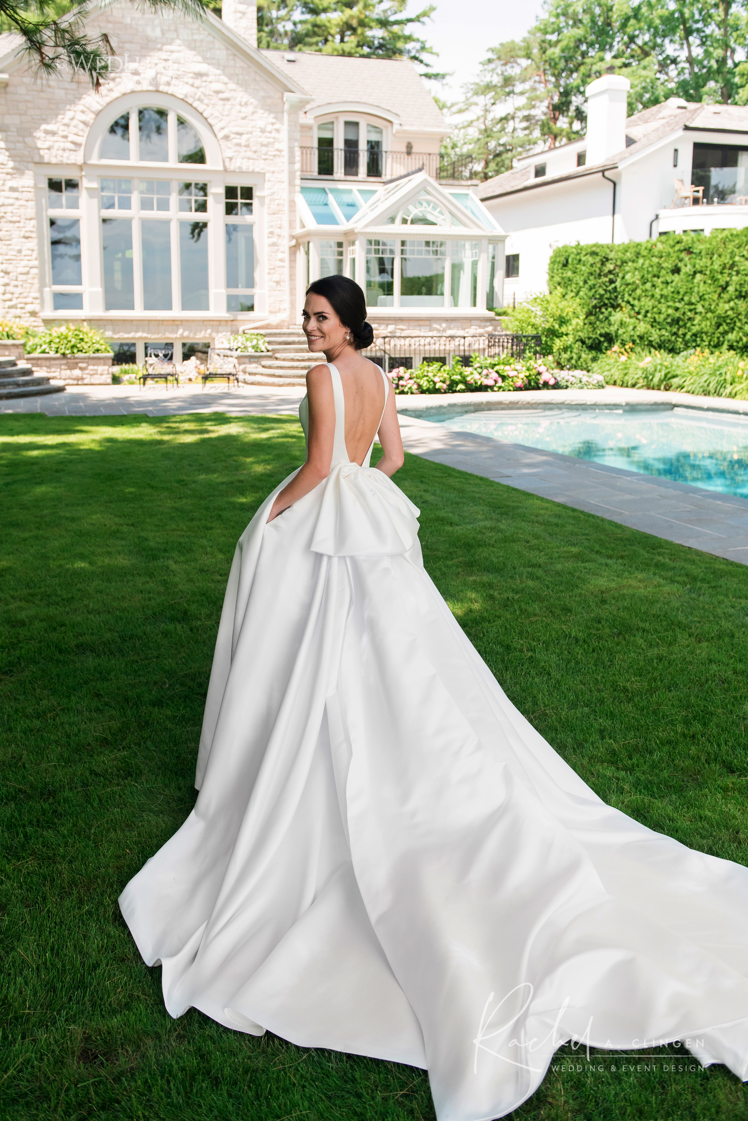 luxury wedding gown nicole