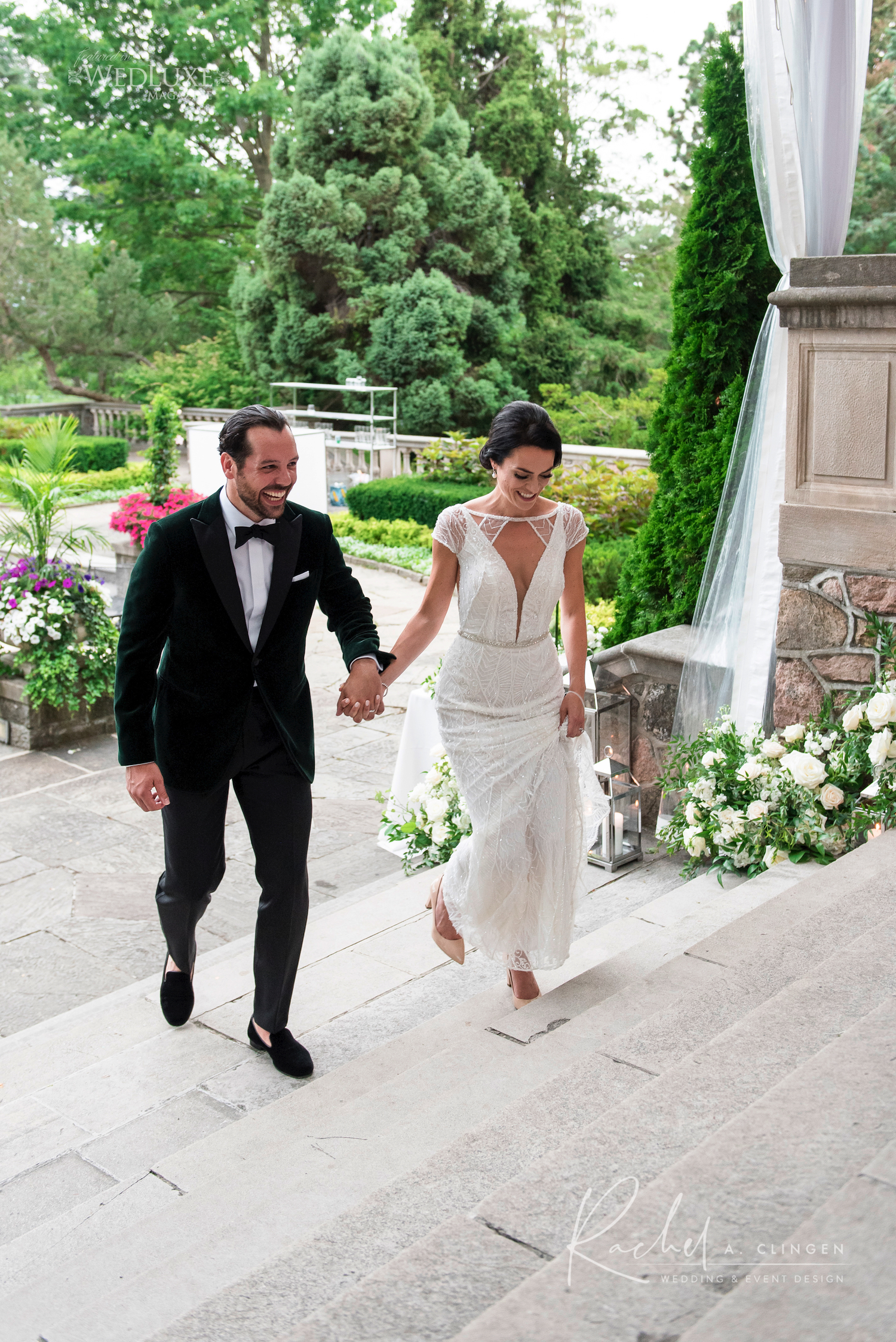 outdoor wedding graydon hall