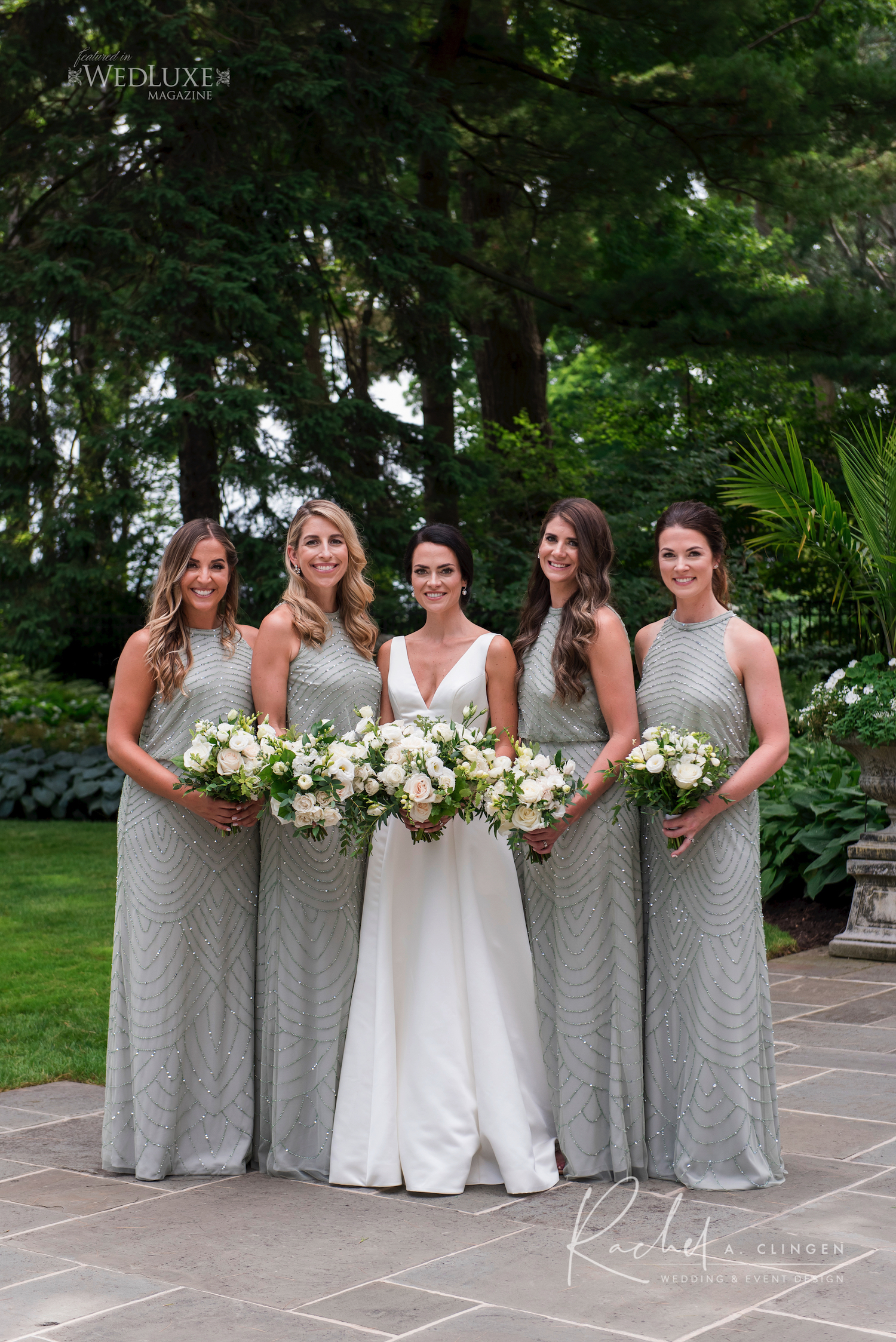 saige green bridesmaids dresses