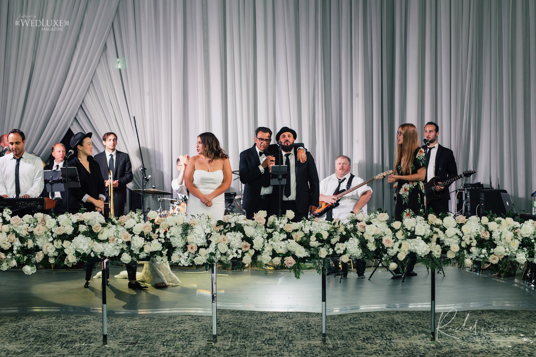 wedding band docor flowers