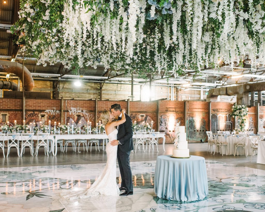 wedding designer toronto hanging flowers