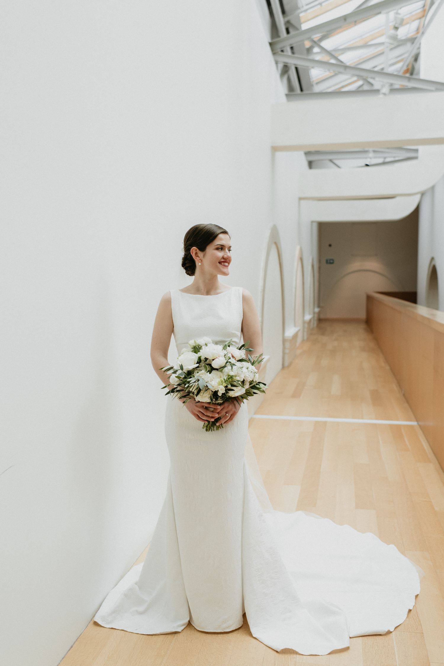 modern wedding toronto bride
