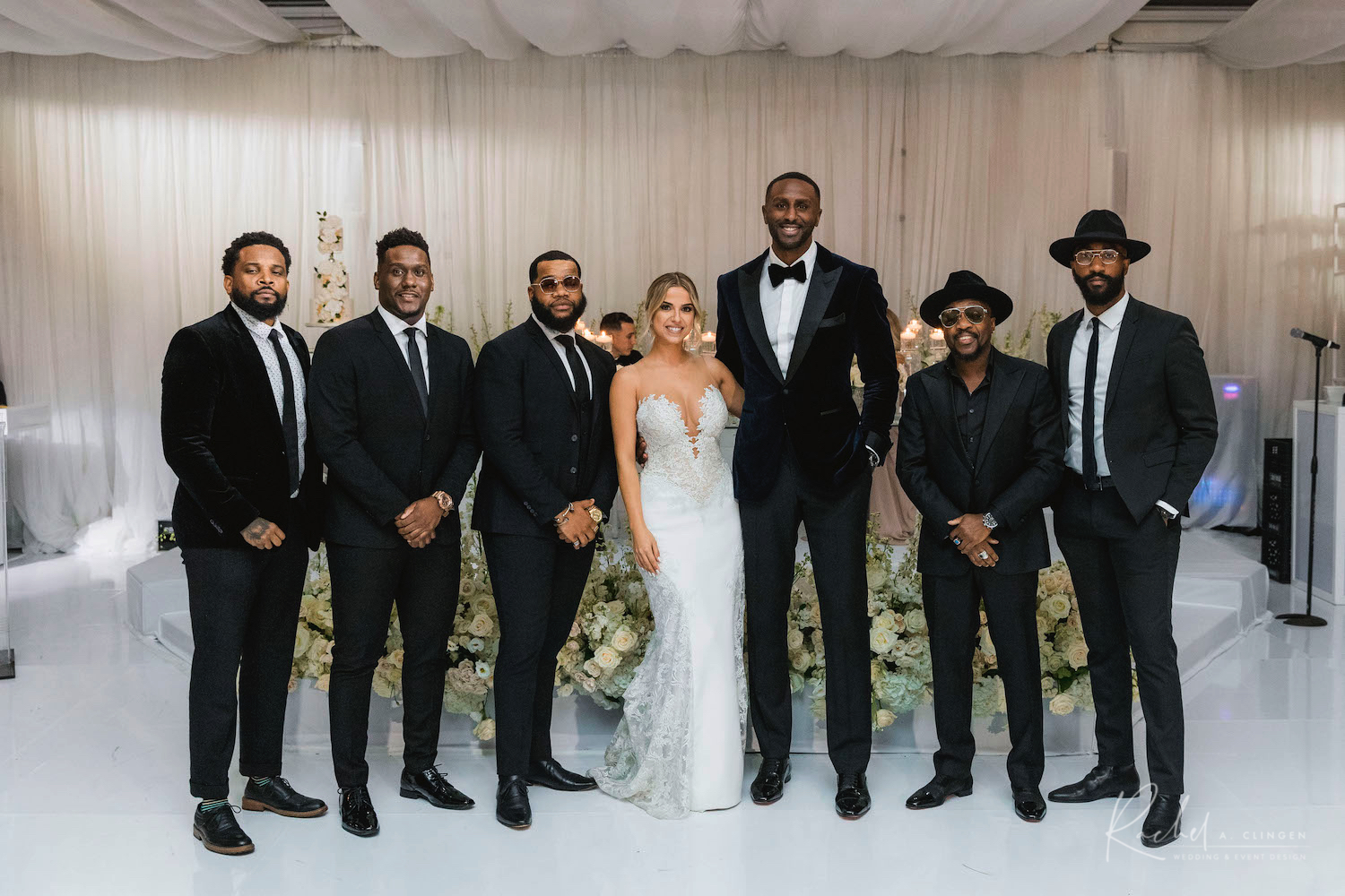 toronto nba wedding