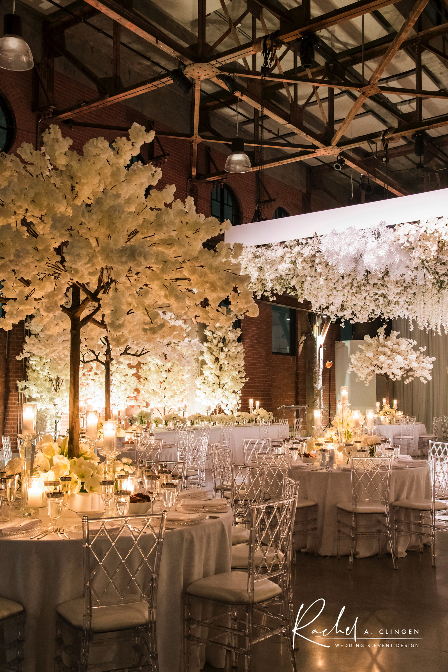 wedding decor trees toronto