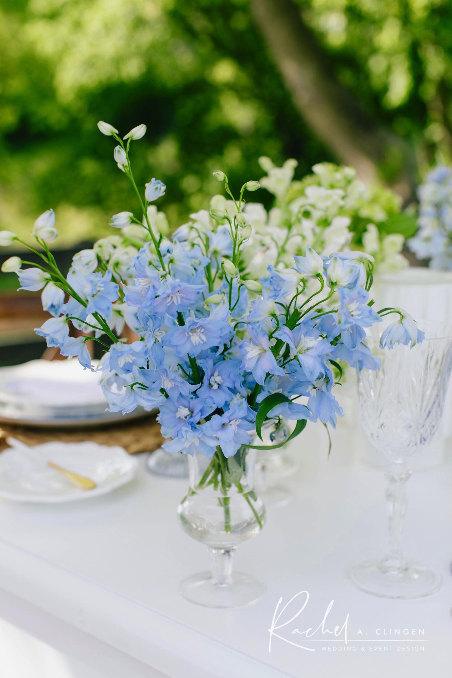 blue wedding flowers toronto