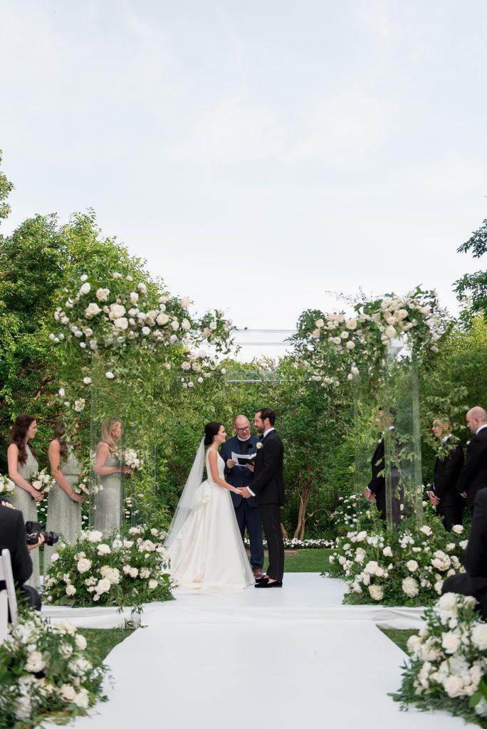 acryllic chuppah toronto luxury wedding