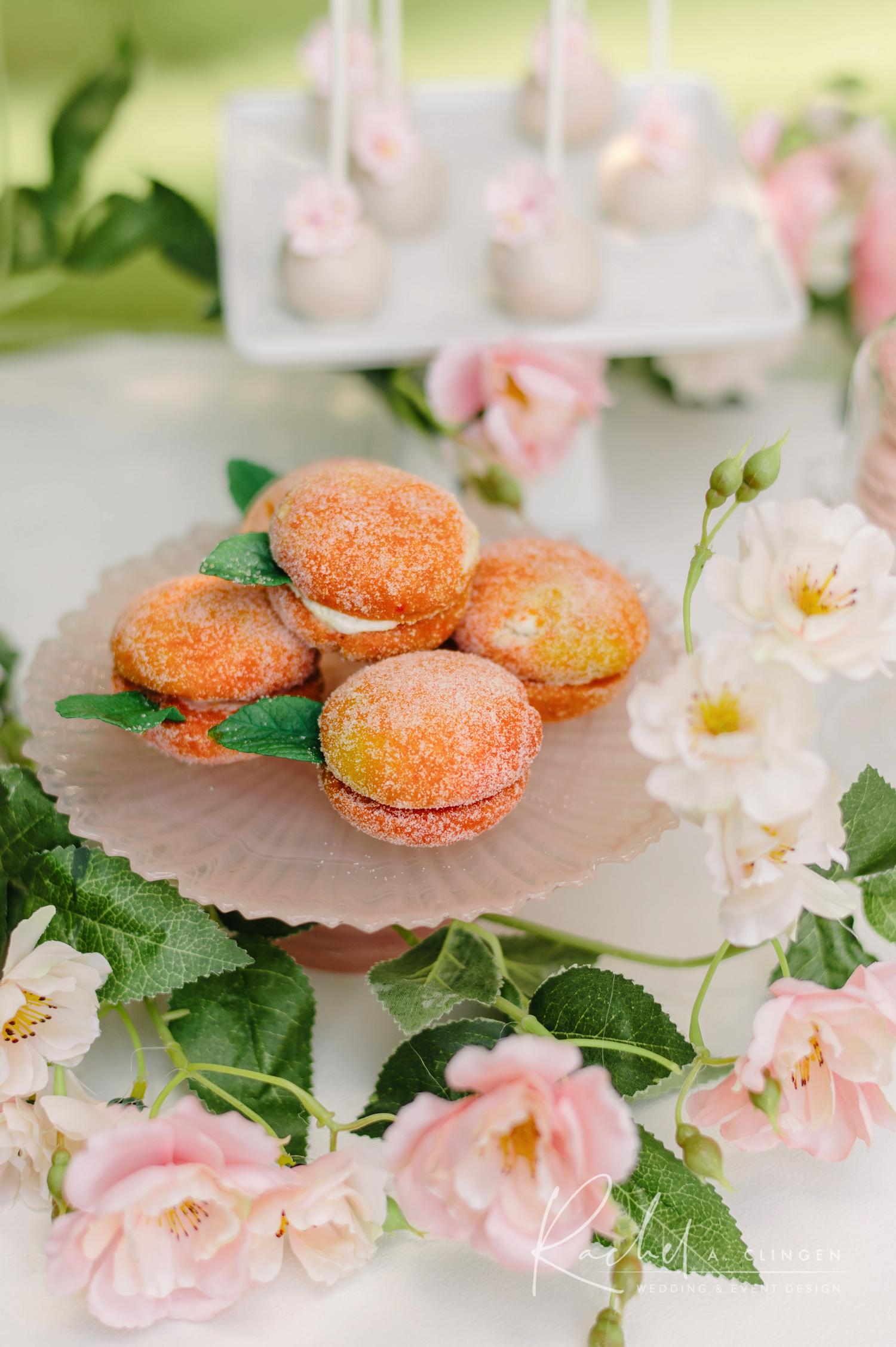 peach themed birthday party toronto