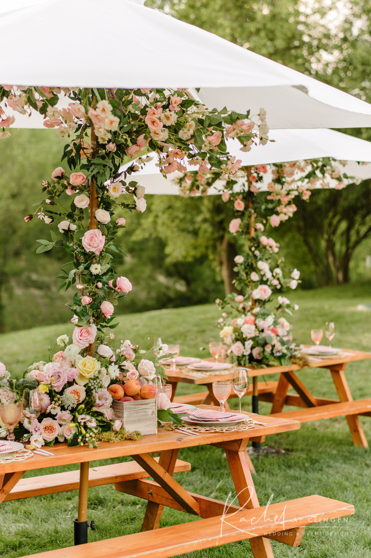 picnic table birthday party ideas
