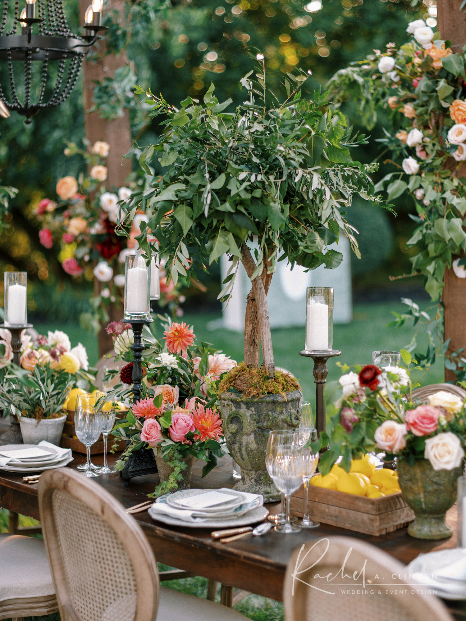 rachel a clingen party design toronto tuscan