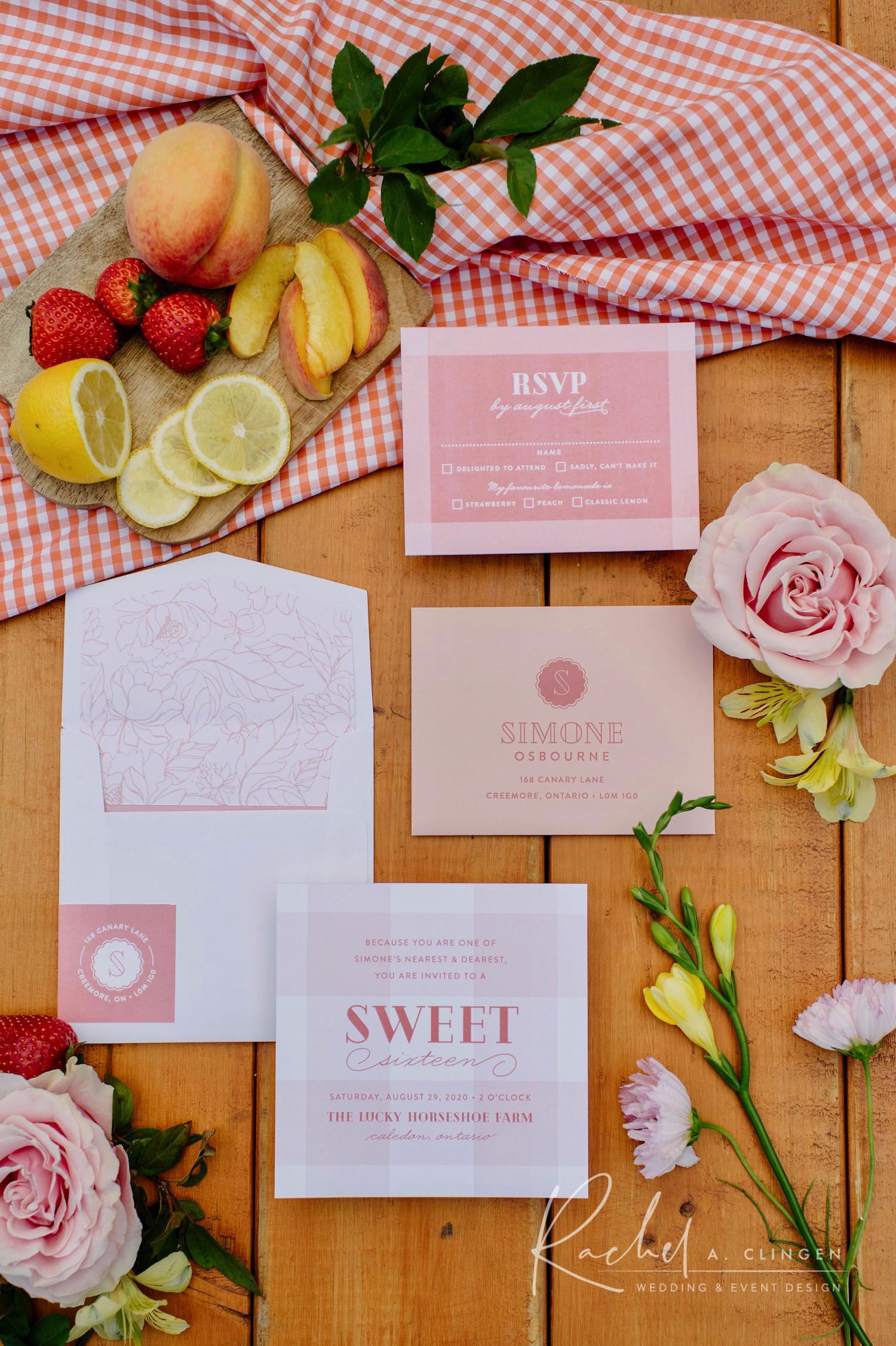 sweet16 birthday invitations