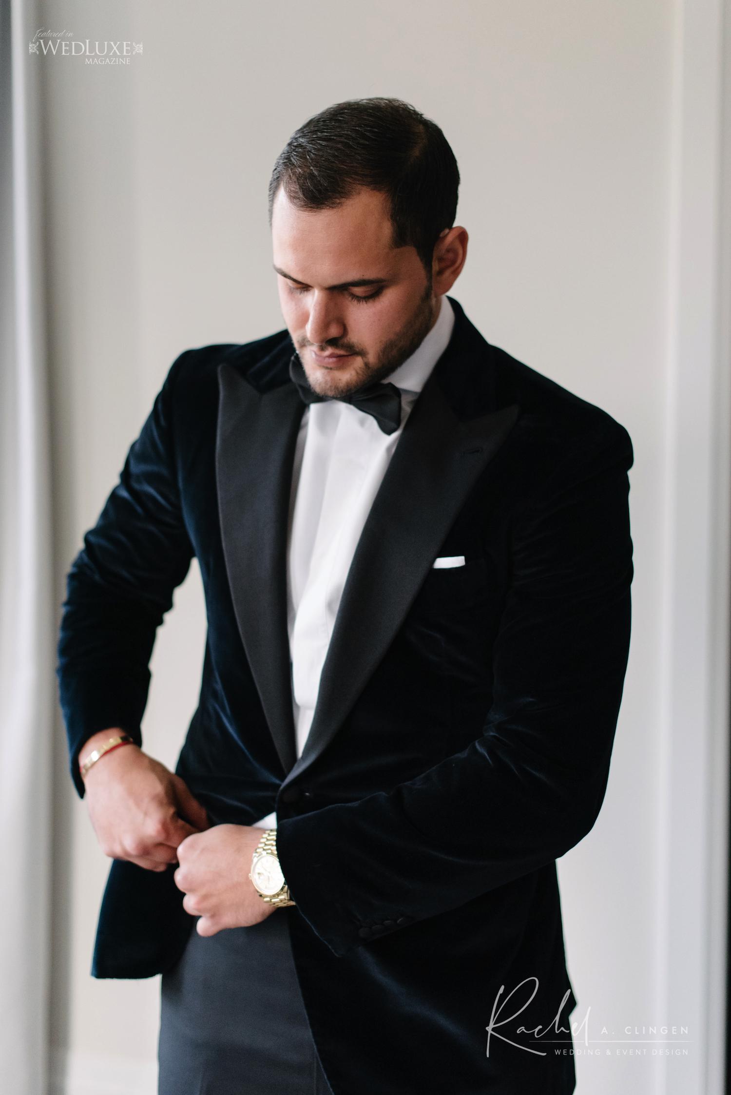 arlington estate wedding groom
