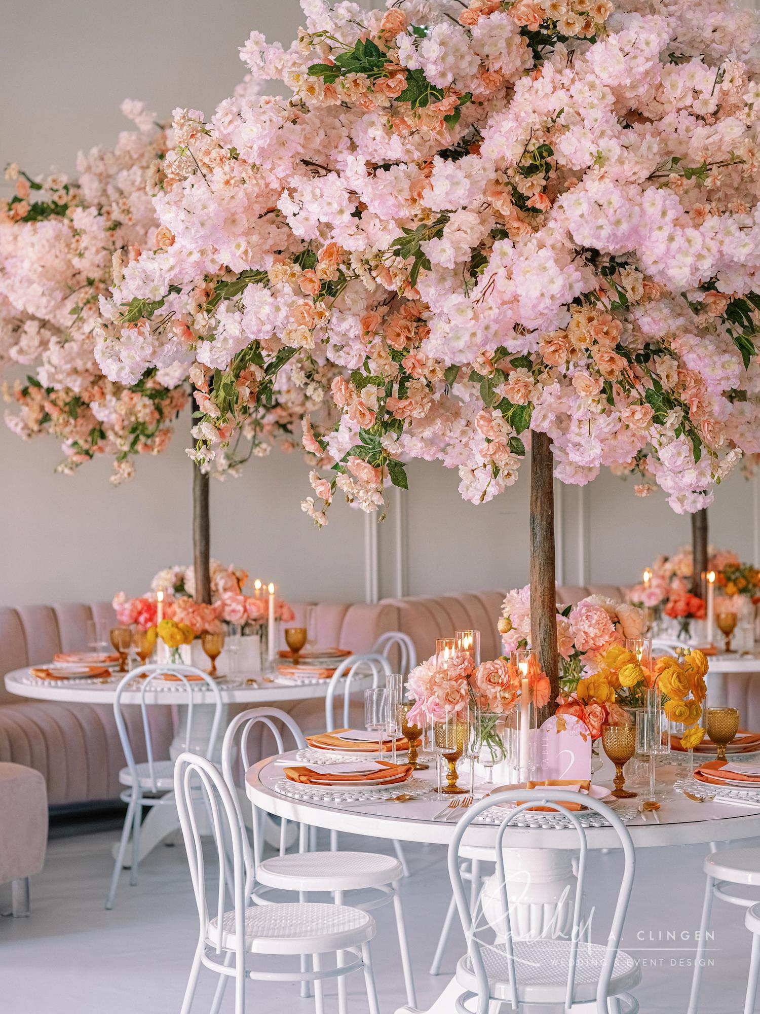 blossom tree centrepieces toronto