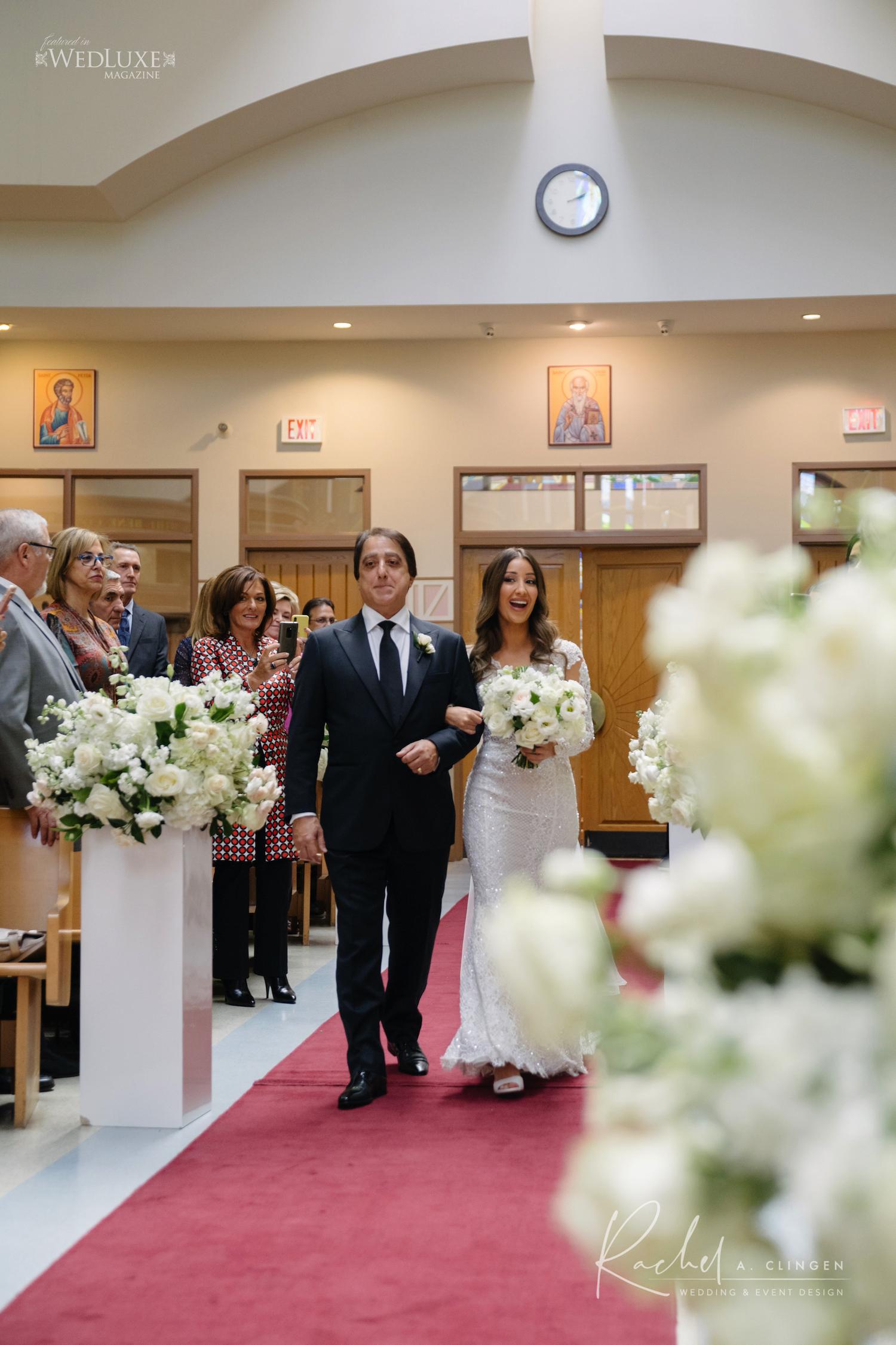 st davids church wedding decor
