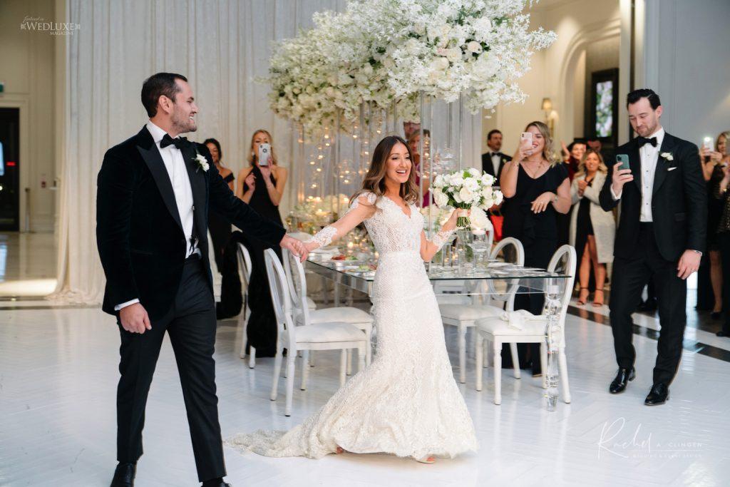 wedding decor arlington estate bridal party