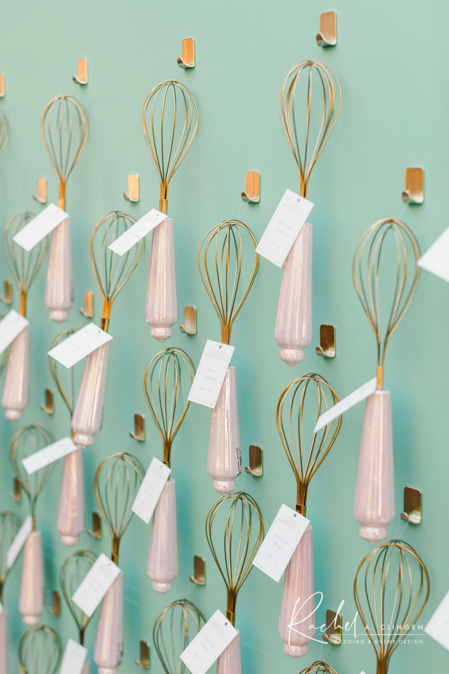 bridal shower french bakery theme