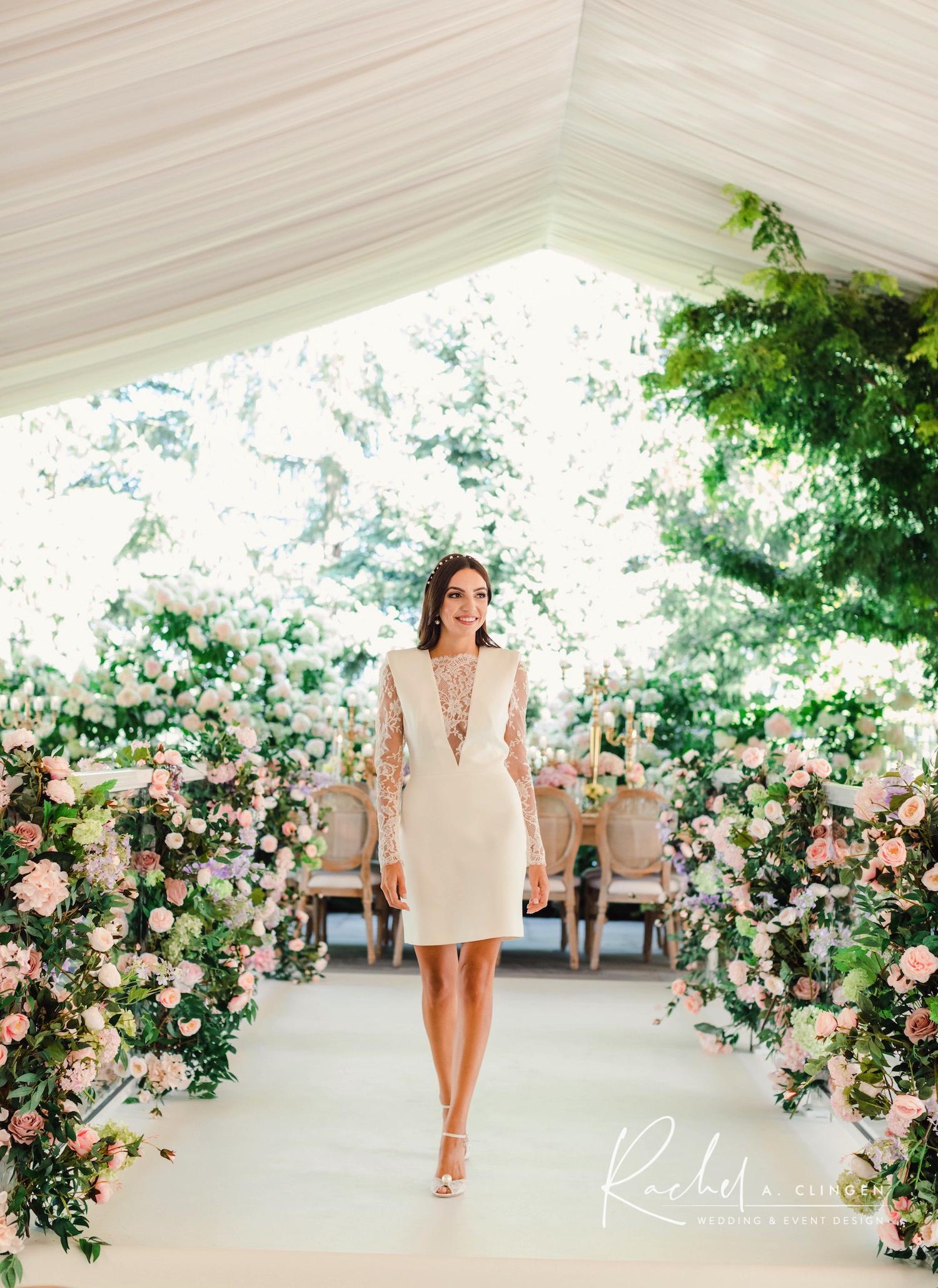 julia bridal shower luxury flowers