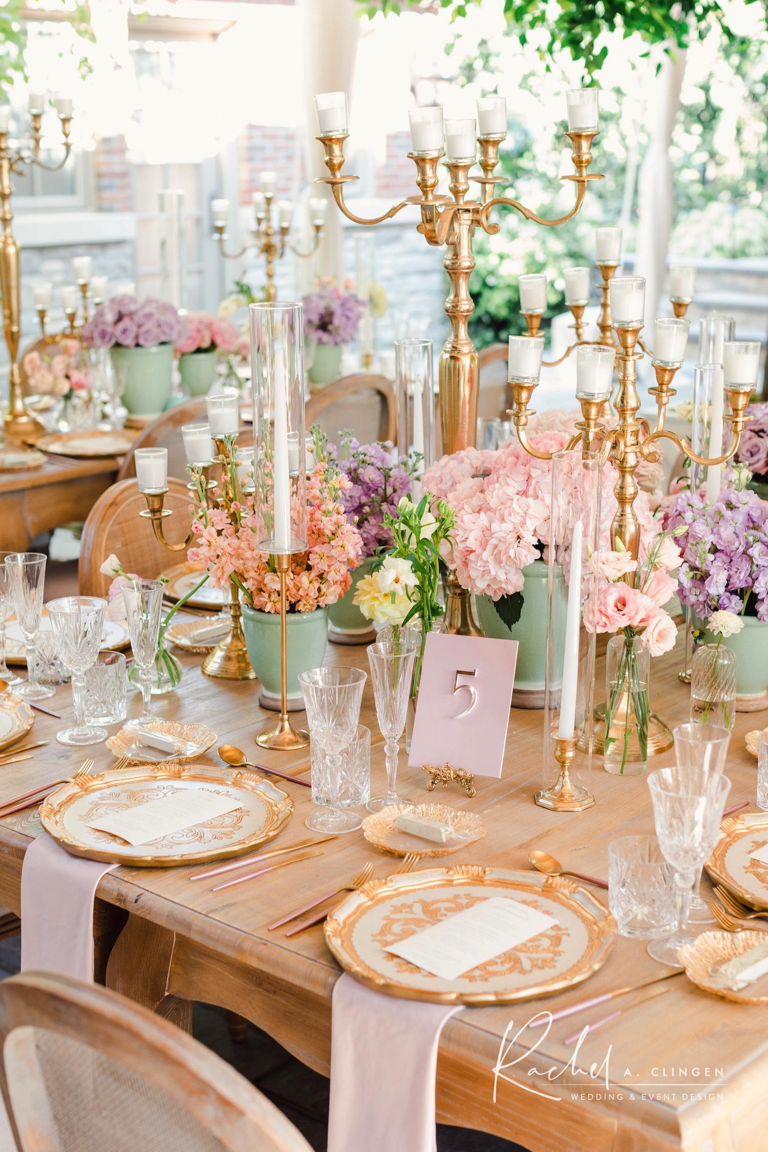 parisienne tablescape bridal shower