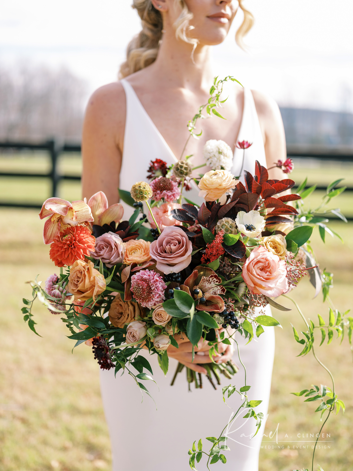 luxury autumn wedding flowers toronto