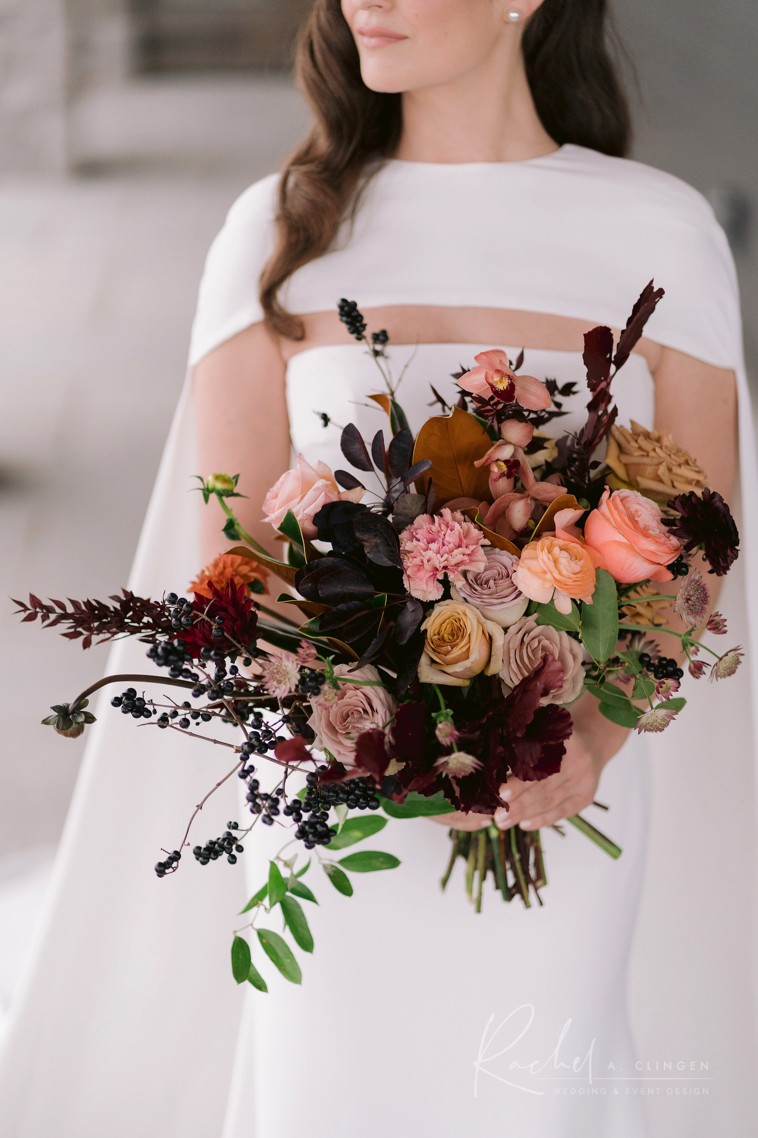 autumn wedding bouquet flowers imp