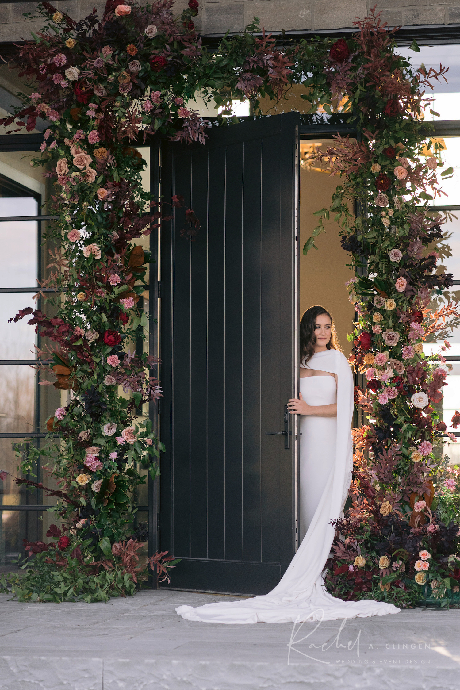 flowers wedding door imp