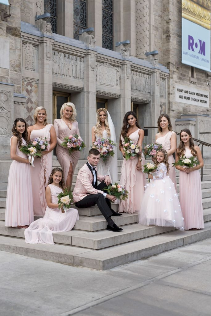 jennifer john bridal party