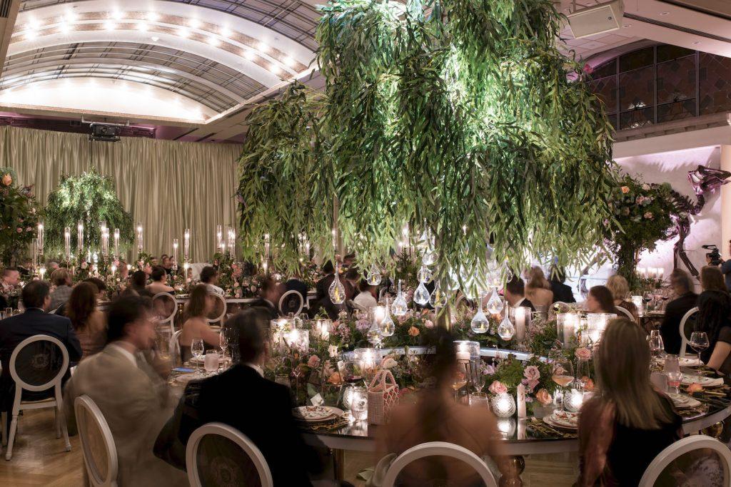 luxury wedding decor royal ontario museum