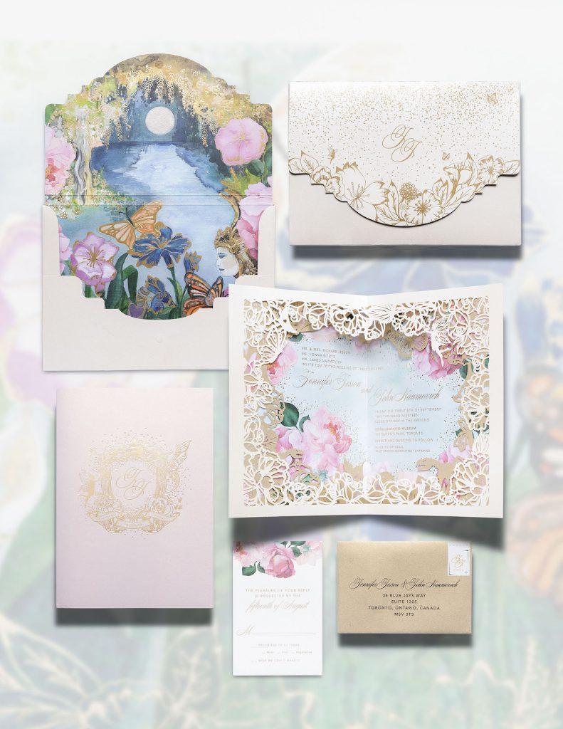 luxury wedding stationery toronto